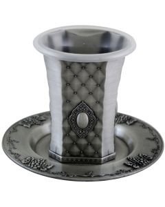 KIDDUSH CUP PEWTER ORNAMENTAL