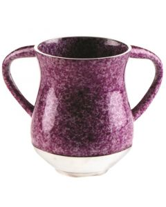 WASH CUP PURPLE MARBLE