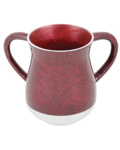 WASH CUP MARBLE BOURDEAUX - METAL