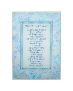HOME BLESSING ENG BLUE BIRDS