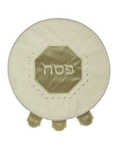 MATZAH COVER GOLD GLITTER