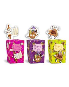 PACK OF 6 MINI PURIM BOXES