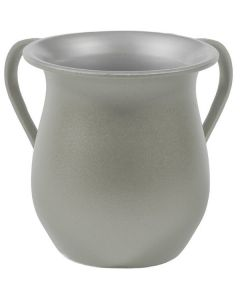 Wash Cup, Aluminum, Grey Sand Finish