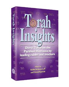 TORAH INSIGHTS H/C  DIVREI