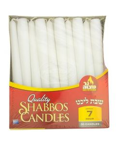 SHABBOS EUROPEAN CANDLES 7 HOURS