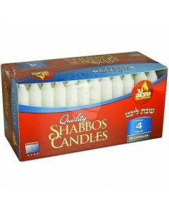 SHABBOS EUROPEAN CANDLES 4 HOURS