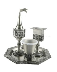 HAVDALAH SET PEWTER STAR - DESIGN