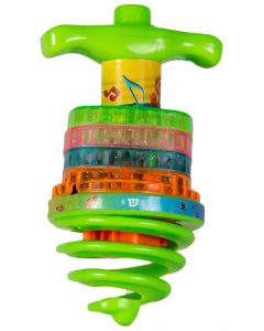 MUSICAL BOUNCING LIGHT DREIDEL