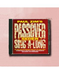 PAUL ZIM'S PASSOVER SING- A- LONG CD