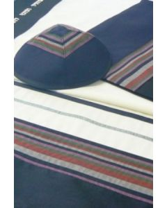 Designer Hand-Made Tallit / Tallis Prayer Shawl Wool Set