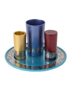 HAVDALAH SET JERUSALEM ANODIZED