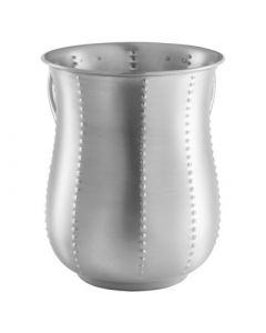 WASHING CUP STEEL BEEDED- VERTICAL BEADS