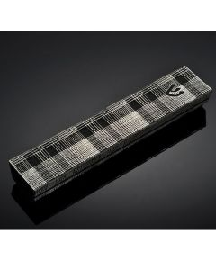 Mezuzah Case, Laser-Cut Metal, Square Plaid, Small