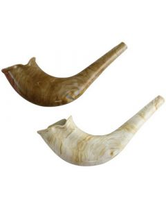 SHOFAR PLASTIC NATURAL COLOR - CHILDREN SHOFAR