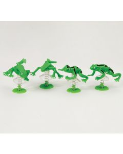 PUSH & POP FROGS - PACK OF 4
