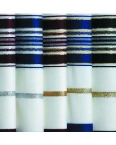 Tallit / Tallis Prayer Shawl Wool - Lurex