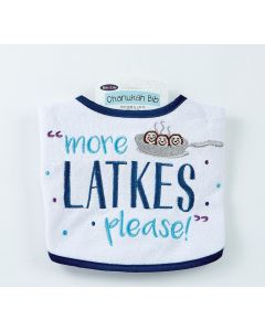 CHANUKAH BIB ''MORE LATKES""