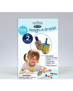 DESIGN A DREIDEL KIT- 2 PC