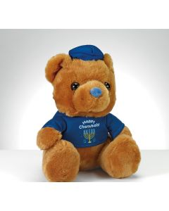 PLUSH CHANUKAH TEDDY BEAR
